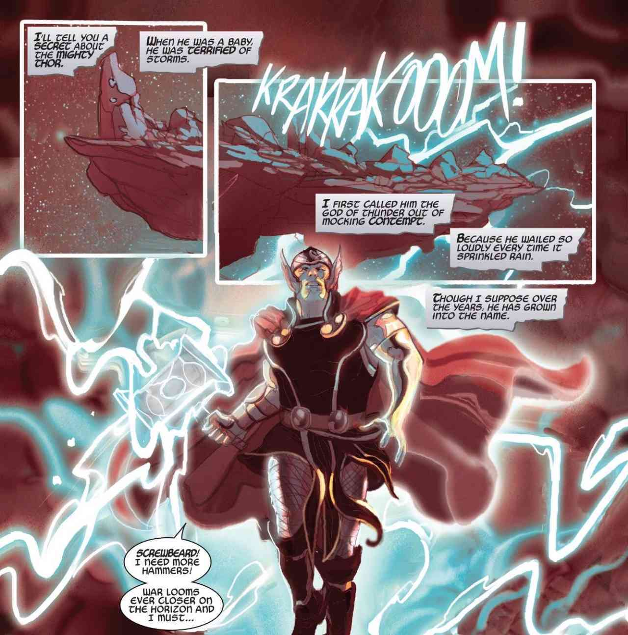 Marvel Reveals How Thor Became the God of Thunder
