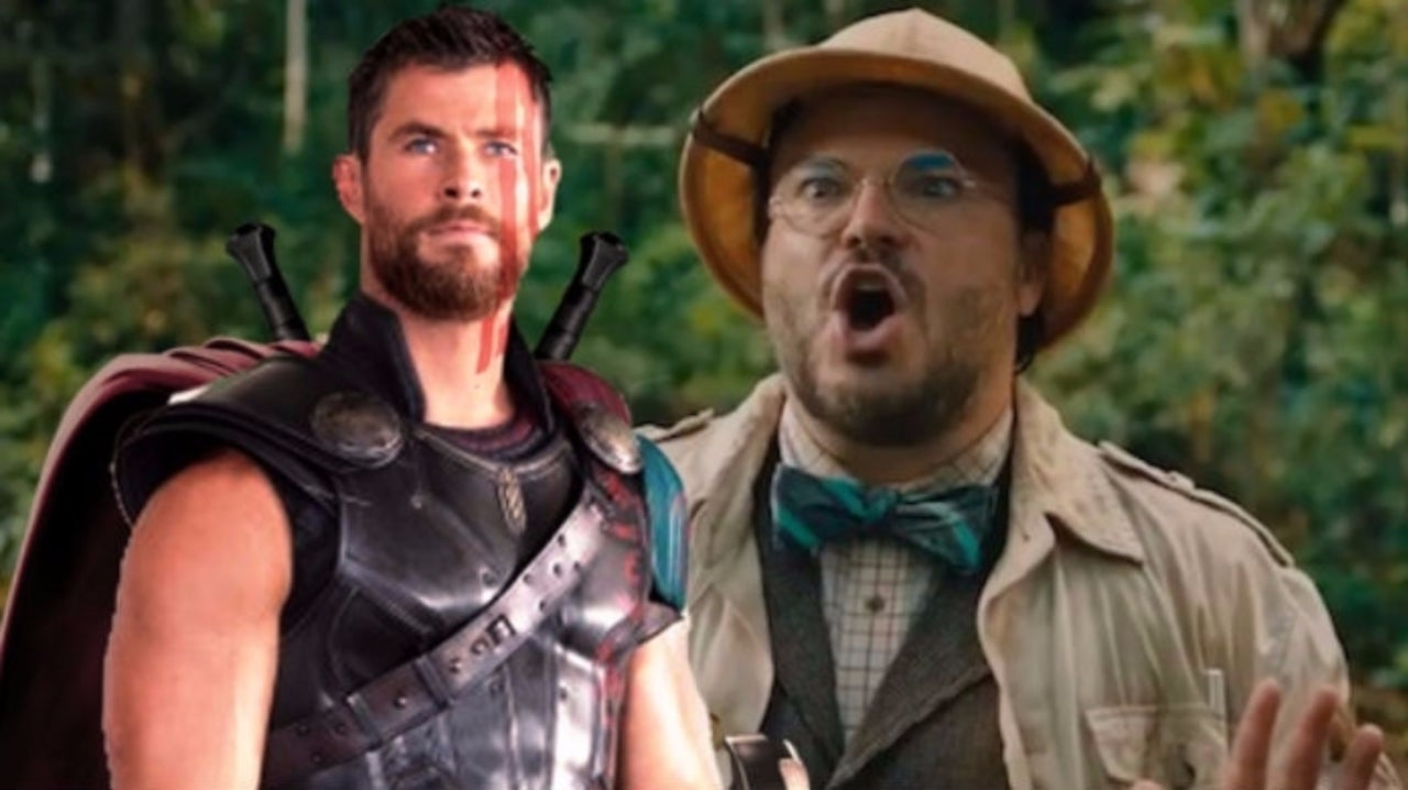 Jack Black Takes on Chris Hemsworth's Workout Routine With Hilarious Results