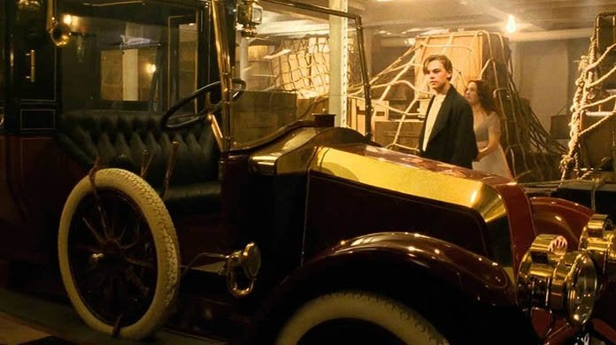 titanic car