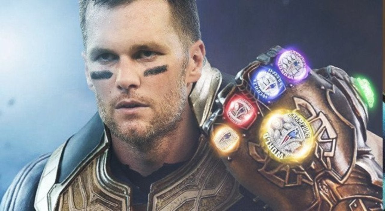 Marvel Fans Are Calling Tom Brady The Nfl Thanos After Patriots Super Bowl Liii Win