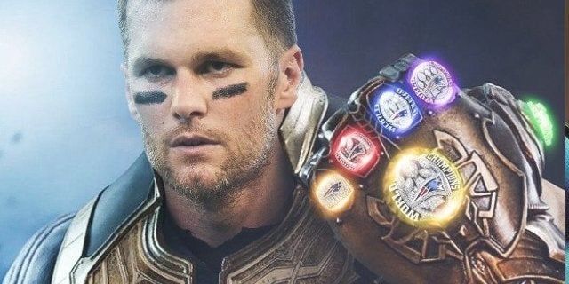 Tom Brady Thanos Super Bowl 53