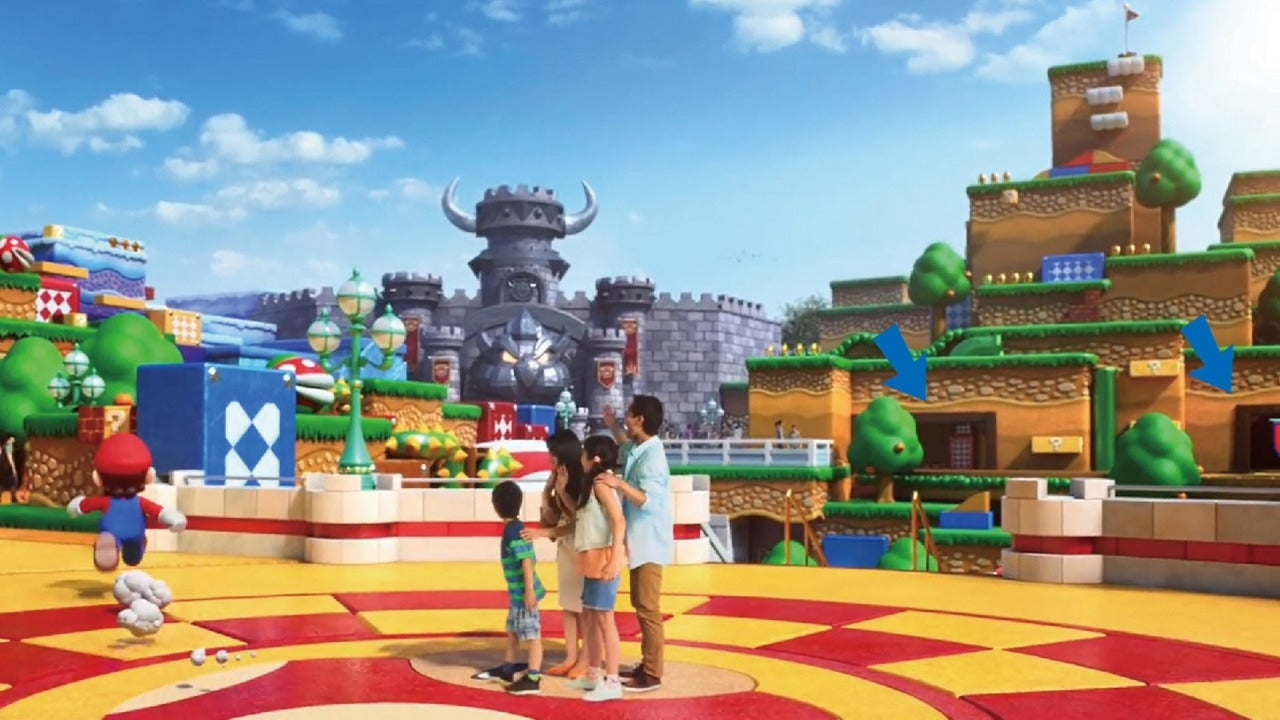 New 'Super Nintendo World' Mock-Up Images Promise a Really Fun Time