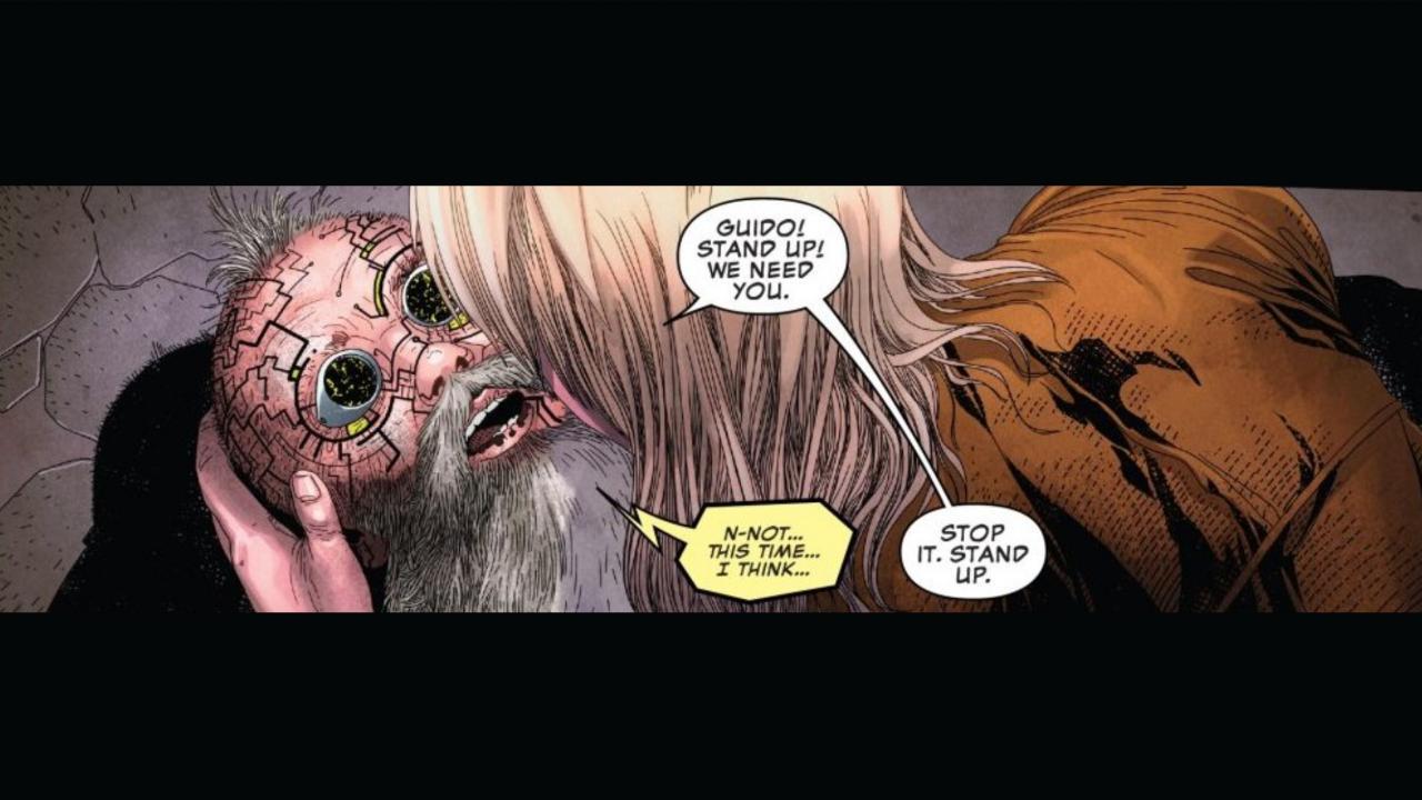Uncanny X-Men Strong Guy Death