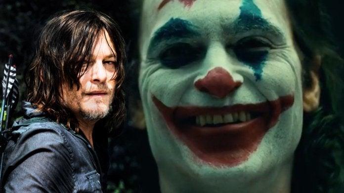 Walking Dead Norman Reedus Joker Joaquin Phoenix comicbookcom