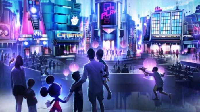 Walt Disney World new play pavilion