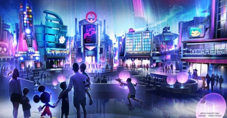 Walt Disney World Play Pavilion 2021