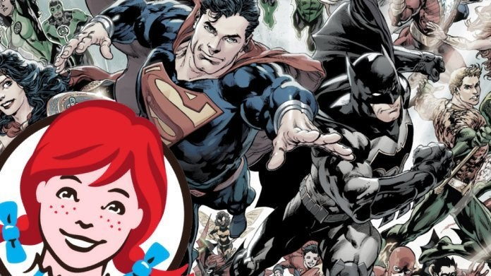 Wendys DC Comics