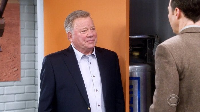William Shatner Big Bang Theory