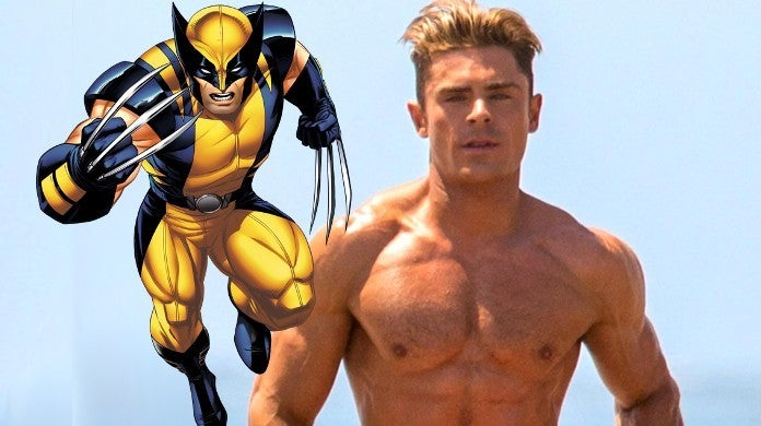 Zac Efron Wolverine Artwork MCU