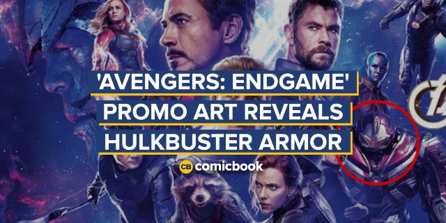 'Avengers: Endgame' Promo Art Reveals Hulkbuster Armor screen capture