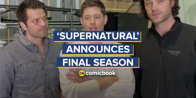 'Supernatural' Officially Ending After Season 15 screen capture