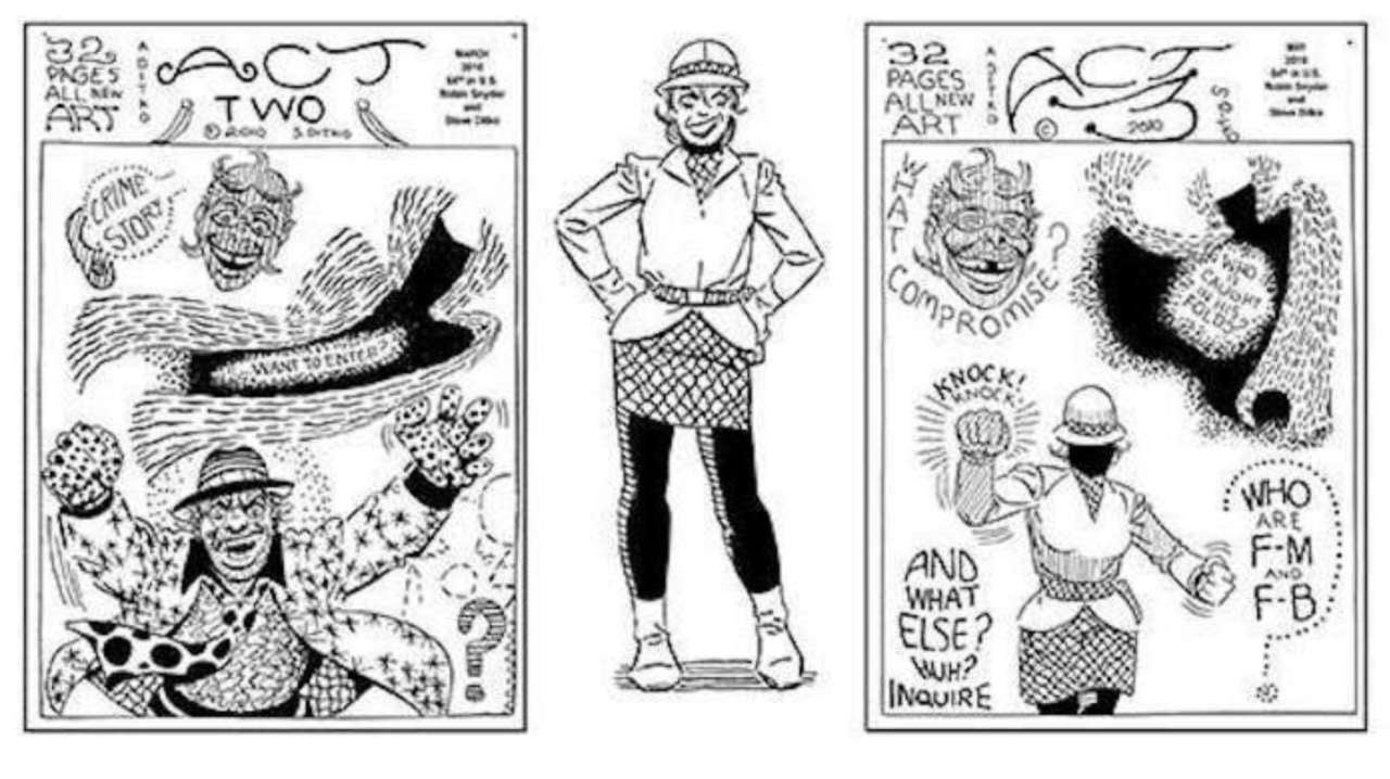 Steve Ditko's Self-Published Works Are Being Collected For the Bookstore Market