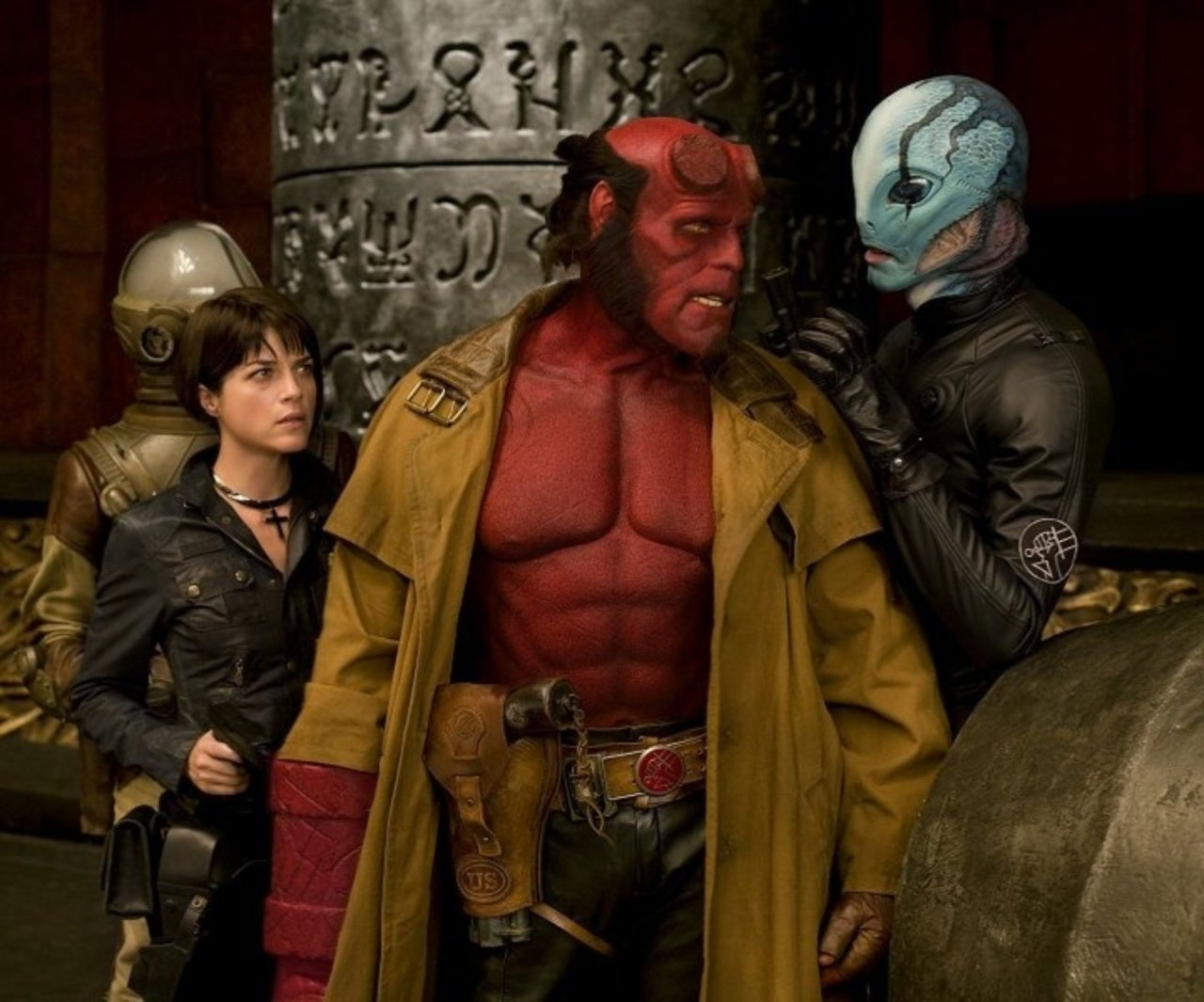 Abe Sapien and Liz Sherman Reportedly Not in 'Hellboy' Reboot
