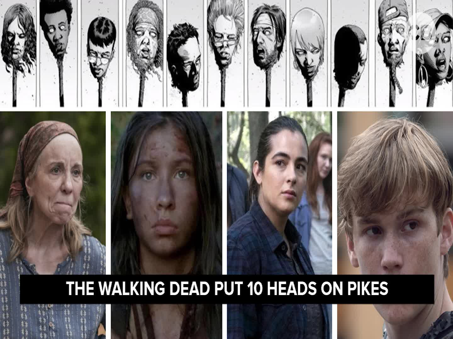 After the Dead: 'The Walking Dead' Reveals Its Pike Victims screen capture