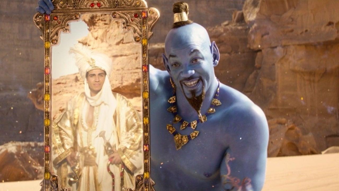 aladdin and genie 2019 ile ilgili görsel sonucu