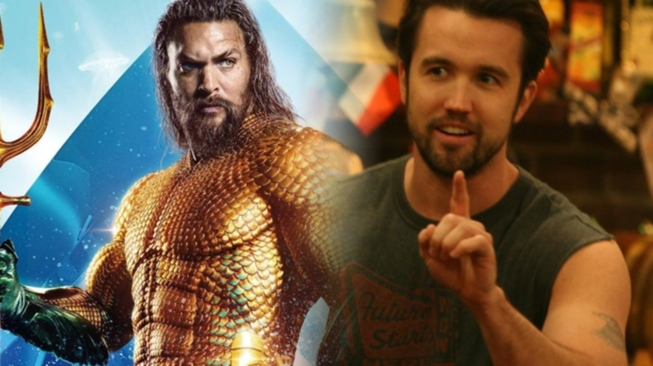 Rob McElhenney Issues Warning Not To Go Beer For Beer With 'Aquaman' Star Jason Momoa