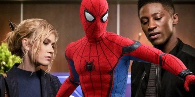 arrow star city 2040 spider man