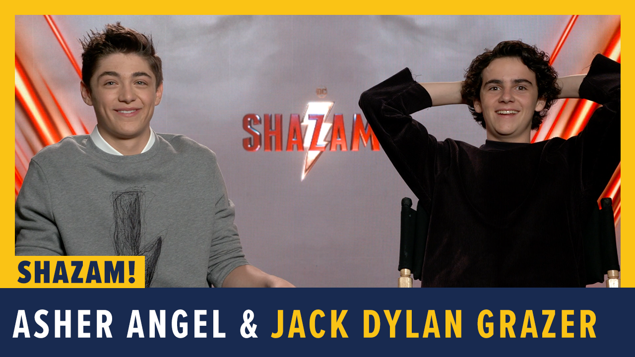 Asher Angel and Jack Dylan Grazer screen capture