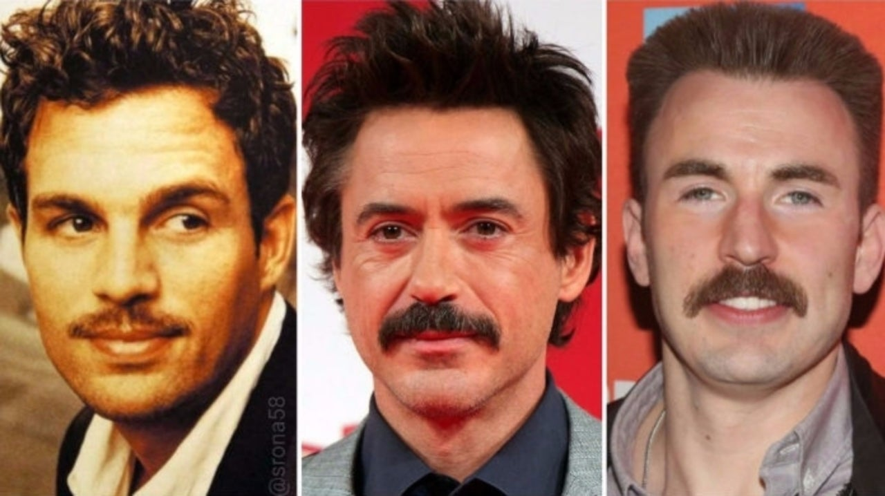 Robert Downey Jr. Wants to Know Which 'Avengers: Endgame' Star Rocks the Best Mustache