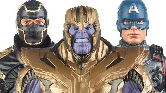 Avengers Edngame Marvel Legends Thanos Captain America Ronin