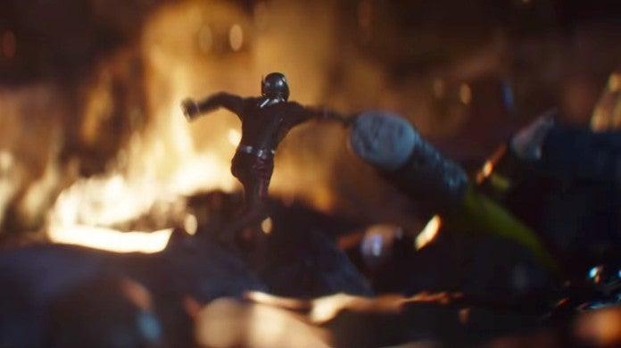 Avengers Endgame Ant-Man Avengers HQ Explosion Scene