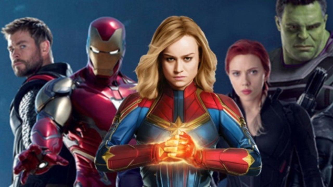 iron man and captain marvel share the stage in new 'avengers