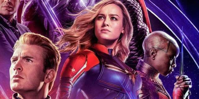 avengers endgame captain marvel poster