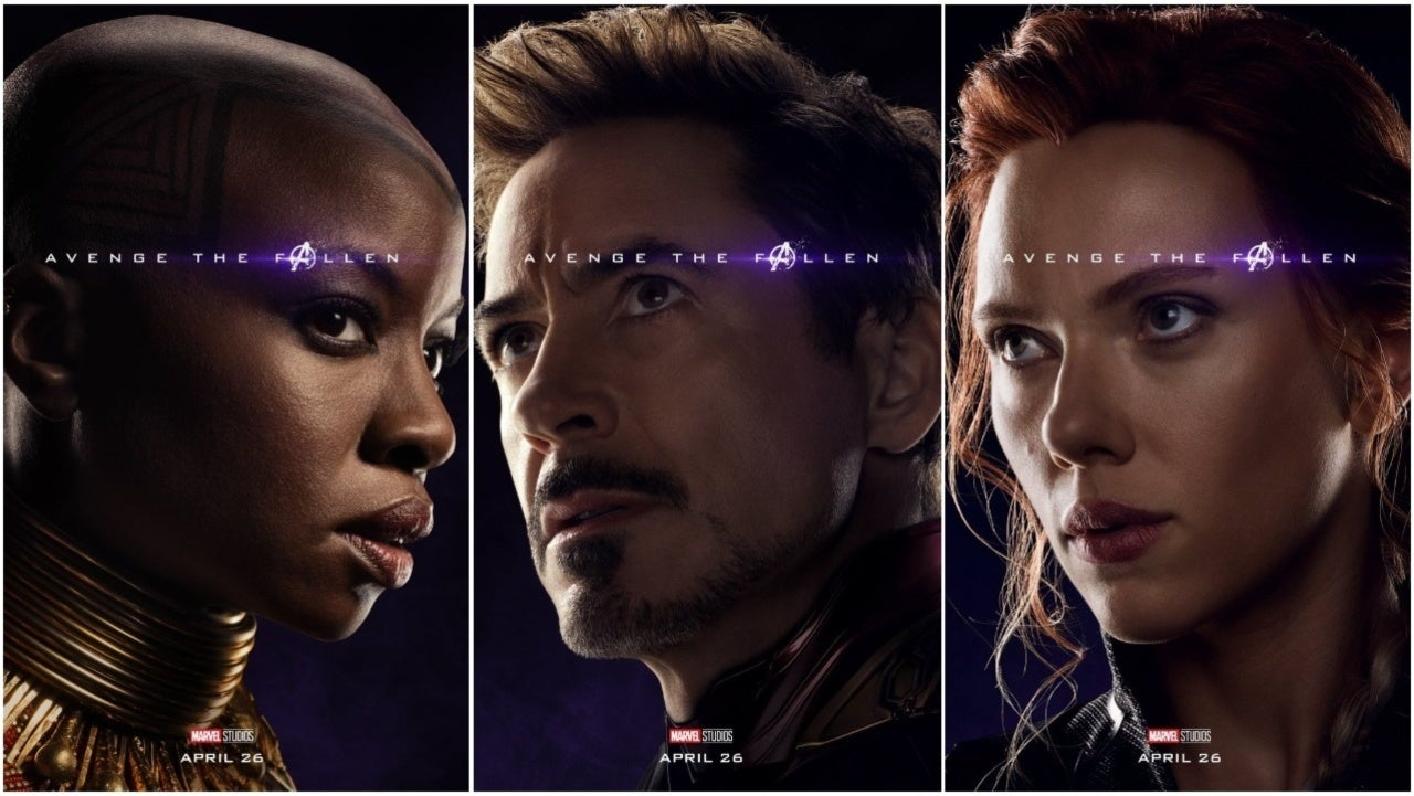 'Avengers: Endgame' Character Posters Released