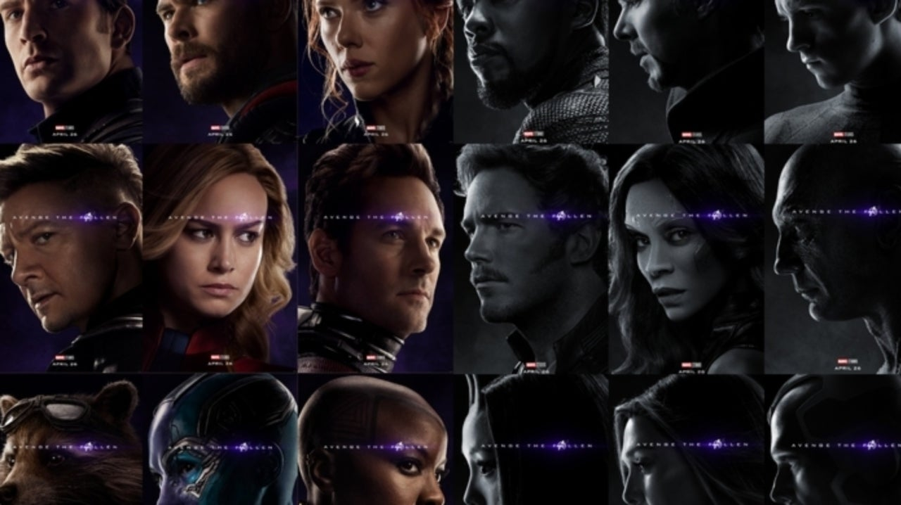 Movie Theater Immortalizes Dead Avengers With Endgame Display