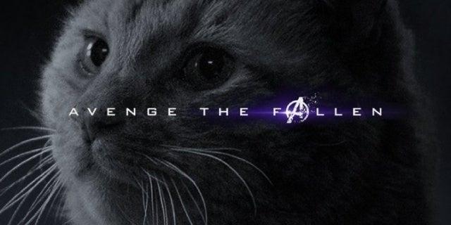 avengers endgame character posters goose the cat captain marvel