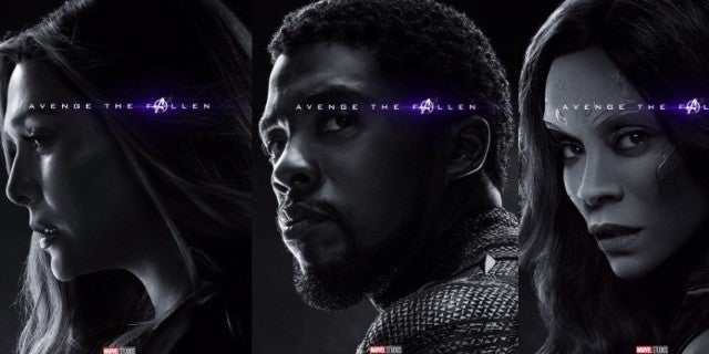 Avengers Endgame Dead Characters Posters