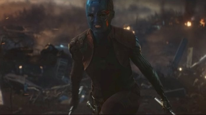 Avengers Endgame HQ Attack Nebula