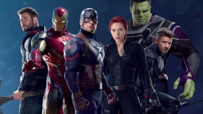Avengers Endgame original six