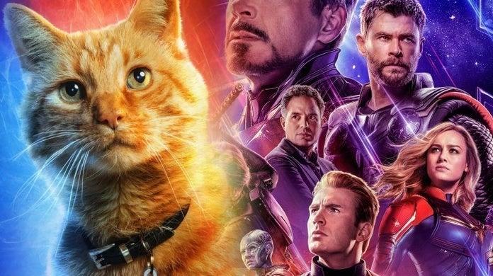 avengers endgame poster goose the cat