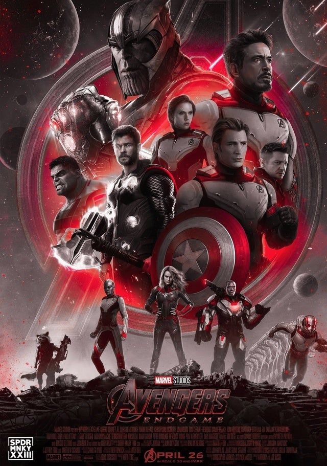 'Avengers: Endgame' Poster Showcases Heroes In Their New Suits