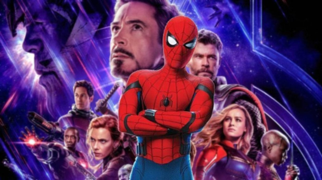 Avengers Endgame Marvel Fan Spots Spider Man On Poster And We