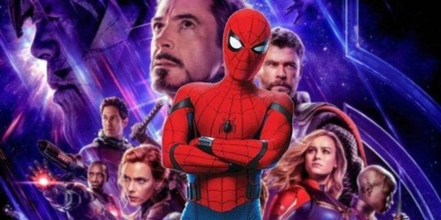 Avengers Endgame Poster Spider-Man Dust meme Joke