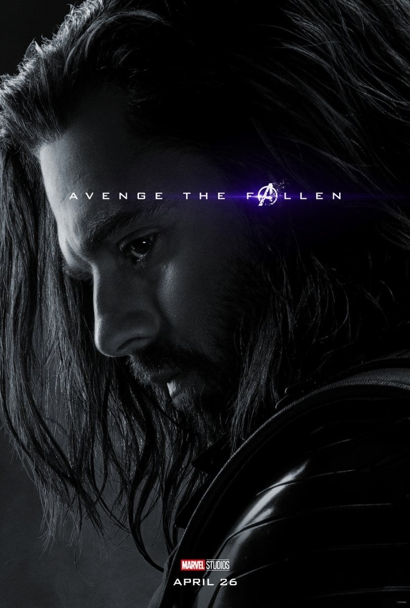 Avengers Endgame Posters Dead Characters - Bucky