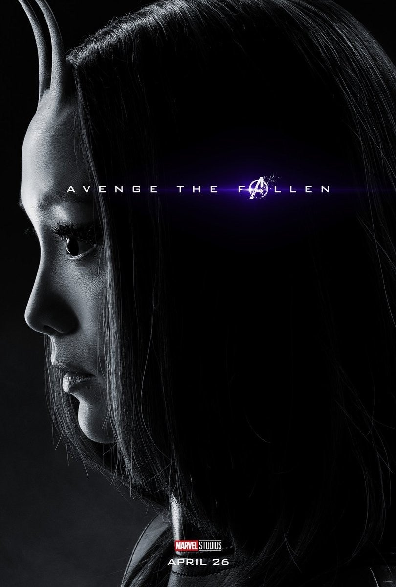 Avengers Endgame Posters Dead Characters - Mantis