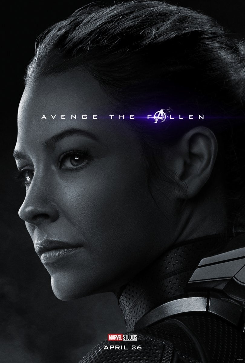 Avengers Endgame Posters Dead Characters - Wasp
