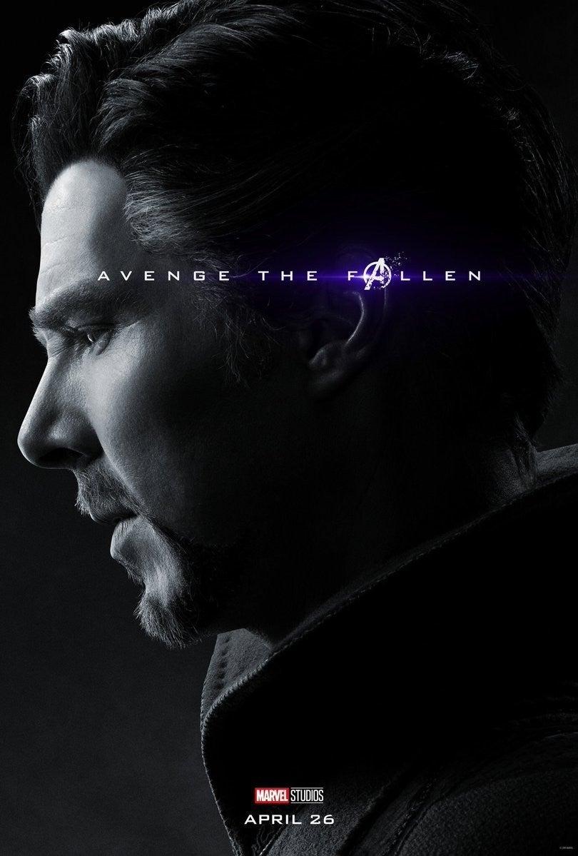 Avengers Endgame Posters Dead Infinity War Characters - Doctor Strange
