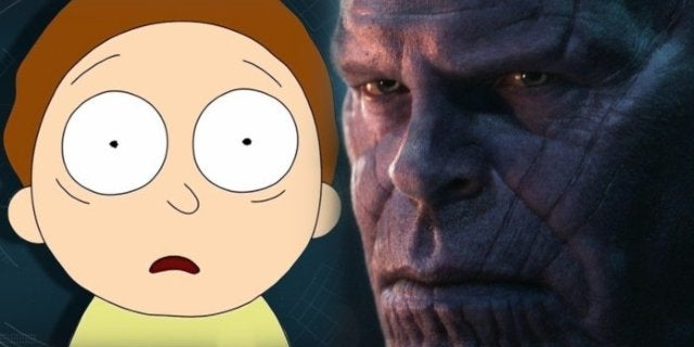 Avengers Endgame Rick Morty