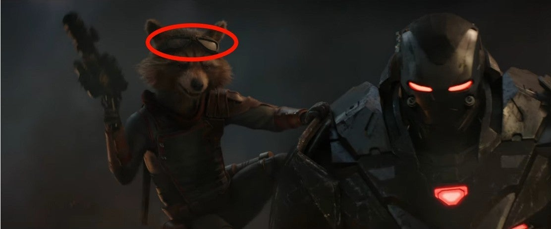 Avengers Endgame Rocket Apparently Stole Something From Bucky