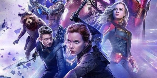 avengers endgame russian poster black widow