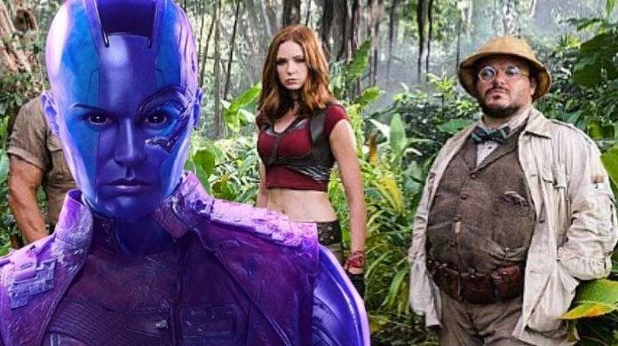 Avengers Endgame Spoilers Karen Gillan Jack Black