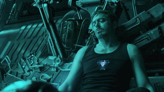 Avengers Endgame Theories Iron Man Dies Space