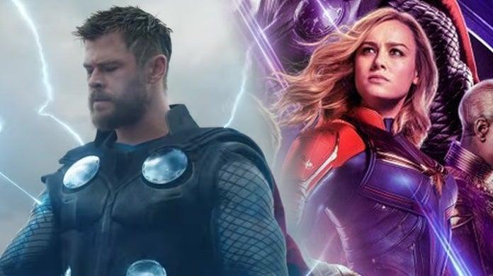 Avengers-Endgame-Thor-Captain-Marvel-Catching-Stormbreaker-Hammer