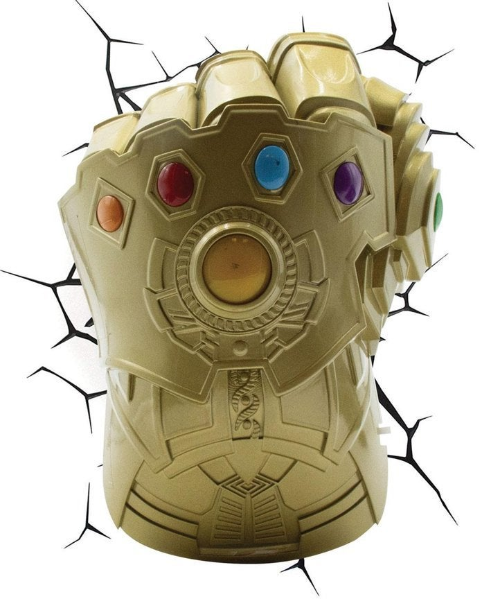Marvel's Avengers Infinity Gauntlet 3D Wall Light Comes ...