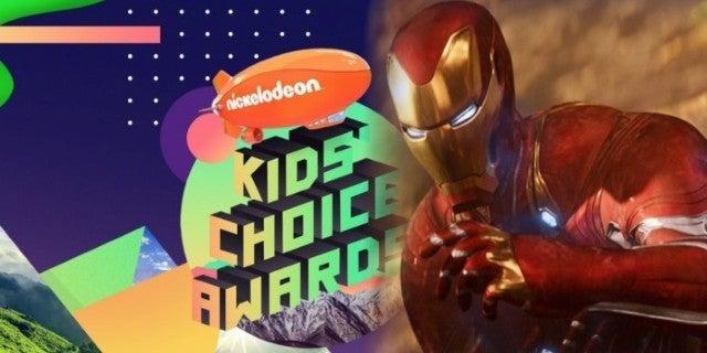 Avengers Infinity War Iron Man Kids Choice Awards ComicBookcom