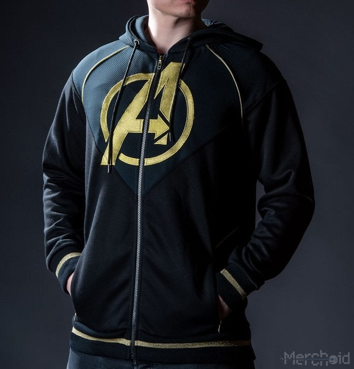 aadba636a88 The  Avengers  Endgame  Quantum Realm Suit Hoodie is Available Now